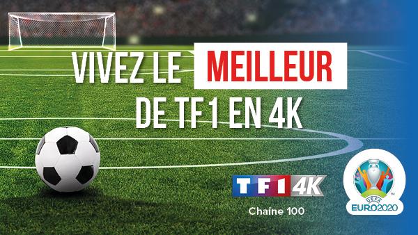 Petit Euro 2020 TF1 4K