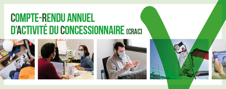 Compte-Rendu annuel d'Activité du Concessionnaire (CRAC)