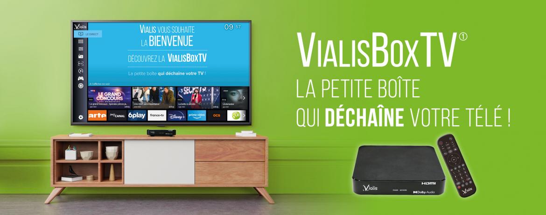 VialisBoxTV, la petite boîte qui déchaîne votre TV !