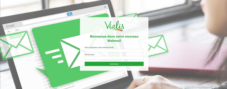 Nouveau webmail Vialis
