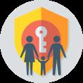 Picto controle parental : sécrutié, protection, suivi...
