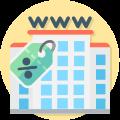 Picto remise tarifaire sur l'abonnement internet pour particuliers vivant en logement collectif sous convention avec Vialis
