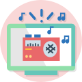 Picto radios numériques