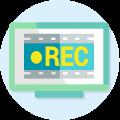Picto enregistrement des programmes TV grâce au décodeur Vialis